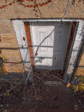 Unused Door - Mineral Point, Wisconsin