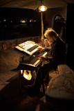 The Fabulous Robin Miller - Playing at Talquepaque - Sedona, Arizona