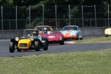 A gaggle of small bore cars