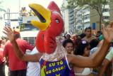 O Bloco Camburão da Alegria faz seu 21º desfile  pela Avenida Boa Viagem, Recife-PE: 17.02.2013