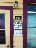 Dawson, Yukon - On joue dur au pays des cowboys! / Rough town!