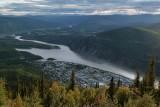 Dawson, Yukon, vu du / as seen from the Midnight Dome