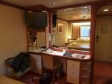 Notre chambre pour sept jours / Our room for seven days sur le / on the Coral Princess