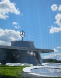 Mercedes in Stuttgart