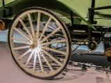 The Wheel of a 1899 Daimler Motor (Business) Car
