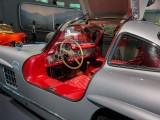 1955 MB 300 SL Gullwing Interior