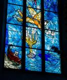 Marc Chagall Window Detail