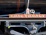 Nameplate of 45428 Eric Treacy