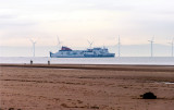 Stena Line leaves the Mersey