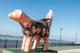 Lamb Banana on the Liverpool waterfromt
