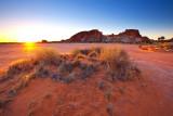 Rainbow Valley Sunrise