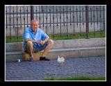 Pigeons Man
