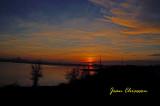 Coucher de soleil sur Québec  /  Sunset
