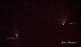 Comet Pan-STARRS / Andromeda galaxy M31 or NGC 224