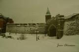 Bordée de neiges  Porte st-Jean built in (1693) Québec