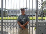 The former presidential palace in Ho Chi Minh City, once Saigon.