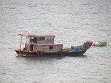 A typical local boat