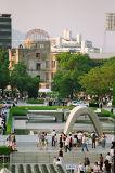 Peace Memorial Garden In Hiroshima