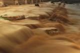 Flow streams after the rain in Beer Sheva(3)