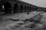 Flow streams after the rain in Beer Sheva(1)