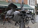 Zeus, Leda, Prometheus and Pegasus visits Bruges