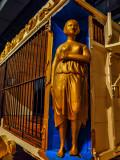 Gilded cage, Ringling Circus Museum, Sarasota, Florida, 2013