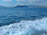 Back to Cannes by boat...