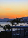 Sunset on the beach...