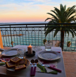 Dinner with a view...