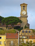The bell tower of Le Suquet
