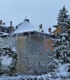 The winter elf's home...