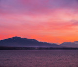 Alpine sunset...