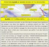 POSITION LE MARDI 04 DÉCEMBRE A 07 TU