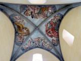 Plafond décoré, palais de la Berbie