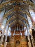 Albi , intérieur de la cathédrale