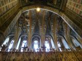 dans le grand coeur de la cathédrale d'Albi
