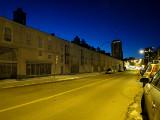 Rue St-Hubert un soir de décembre