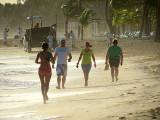 marche sur la plage de Punta Cana