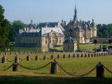 Arrivée à Chantilly