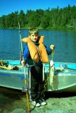Andrews first Lake Trout 1998