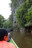 Rock formations along the river to Clearwater Cave