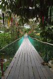 Suspension bridge to Gunung Park HQ