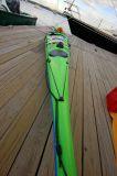 Kayak On The Dock - Castine