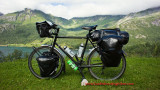 413    Kris touring Norway - Surly Long Haul Trucker touring bike
