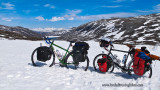 427    Éveline & Marie-Pierre touring Norway - Kona Sutra and Surly Long Haul Trucker touring bikes
