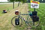 429    Doug touring Ontario - Schwinn Voyageur touring bike