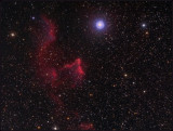 IC 59 and IC 63  in Cassiopea