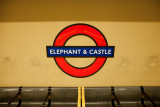 Elephant Castle sign