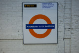 Highbury Islington sign