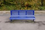 Moreton-in-Marsh station bench